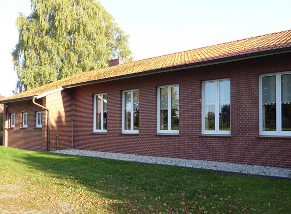 Sanierungsmaßnahme am ev.-ref. Gemeindehaus Ohne
