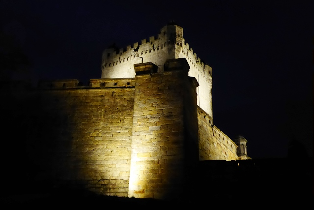 Illumination der Burg Bentheim