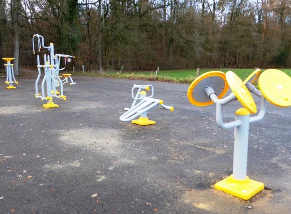 Outdoor-Fitnessplatz in Quendorf