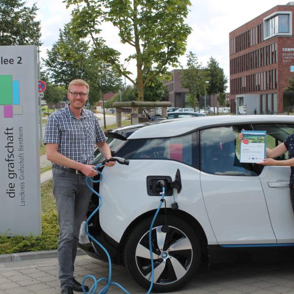 Bewilligung für LEADER-Projekt E‑CarSharing in der Grafschaft Bentheim