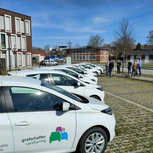 E‑Car-Sharing in der Grafschaft – Kein Aprilscherz!