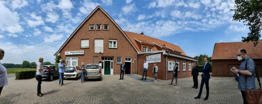 Einweihungsfeier Erweiterung Dorfgemeinschaftsraum Quendorf